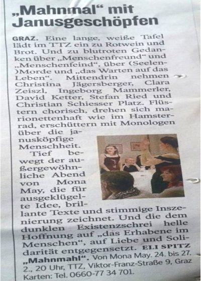 Bild von Artikel aus Kleine Zeitung